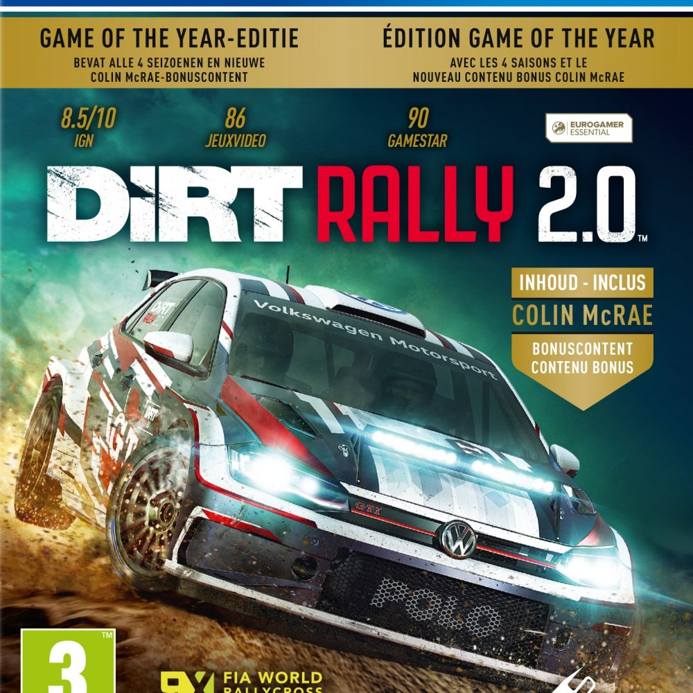 DiRT Rally 2.0 (GOTY Edition) (PS4)