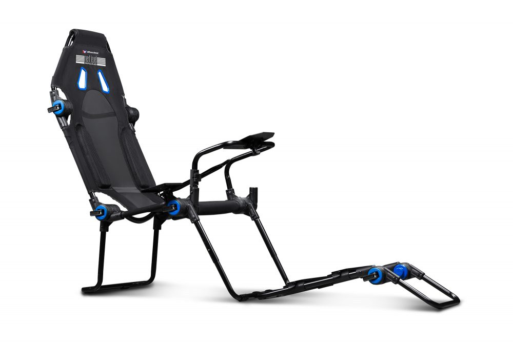 Next Level Racing F-GT Lite Formula and GT Foldable iRacing Edition Simulator Cockpit 4